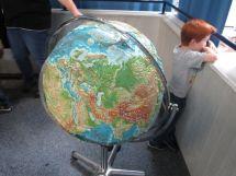 Globus im Foyer