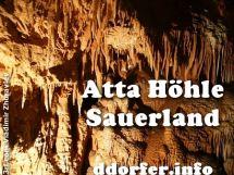 Atta Höhle, Sauerland