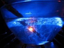 Fruehe-forscher unterwasserfackel